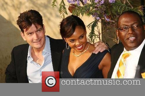 Charlie Sheen, Shanon Leal and Randy Jackson...
