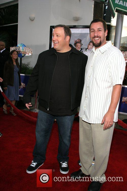 Kevin James and Adam Sandler 'I Now Pronounce...
