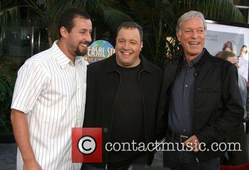 Adam Sandler, Kevin James, and Richard Chamberlain 'I...