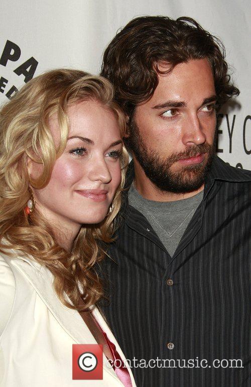 Yvonne Strahovski and Zachary Levi The cast and...