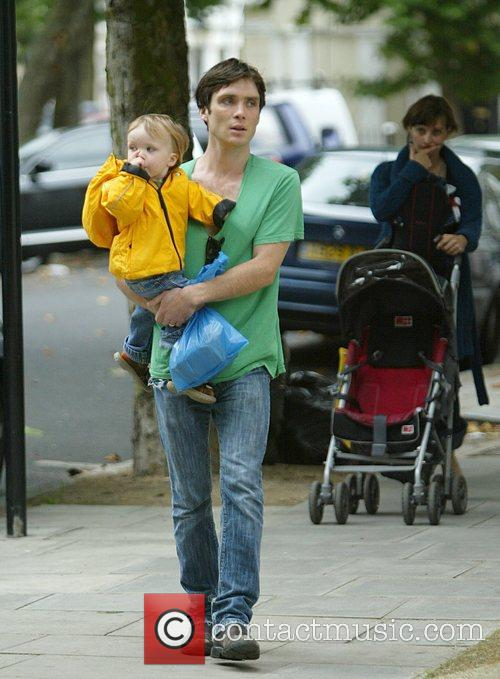 cillian murphy goes out with his son to the buy some... | picture ...