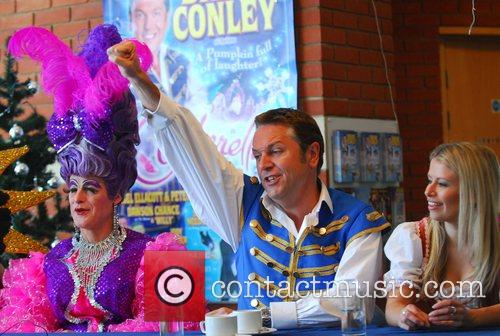 Peter Robbins as 'The Ugly Sister', Brian Conley...