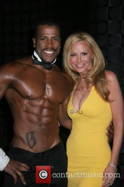 Cindy Margolis and a Chippendales dancer Cindy Margolis...