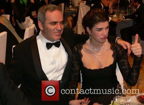 Garri Kasparow, his wife 7th annual Cinema for...