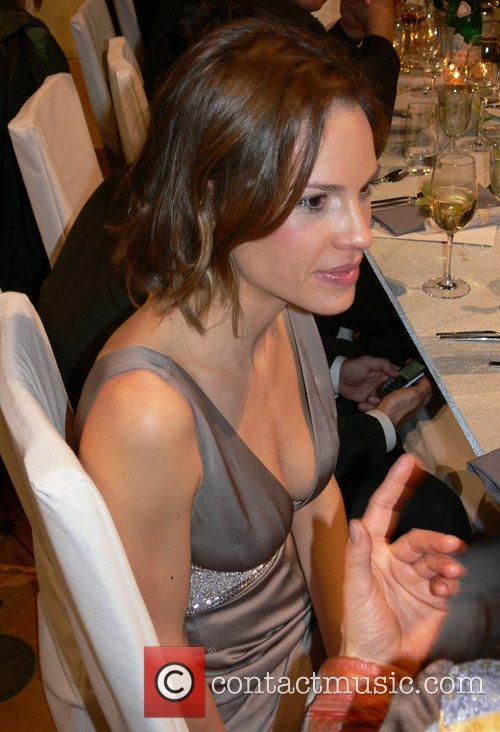 Hilary Swank 7th annual Cinema for Peace Award...
