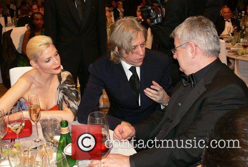 Nadja Auermann, Bob Geldof, Joschka Fischer 7th annual...