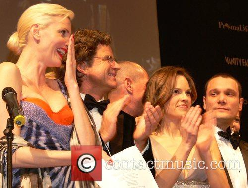 Nadja Auermann, Florian Langenscheidt, Hilary Swank 7th annual...