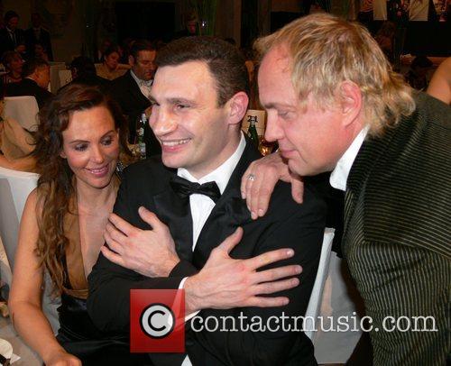 Natascha Ochsenknecht, Vitali Klitschko, Uwe Ochsenknecht 7th annual...