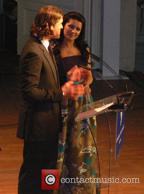 Anna Netrebko, David de Rothschild 7th annual Cinema...