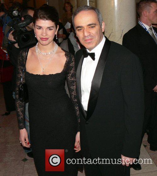 Garri Kasparow, wife 7th annual Cinema for Peace...