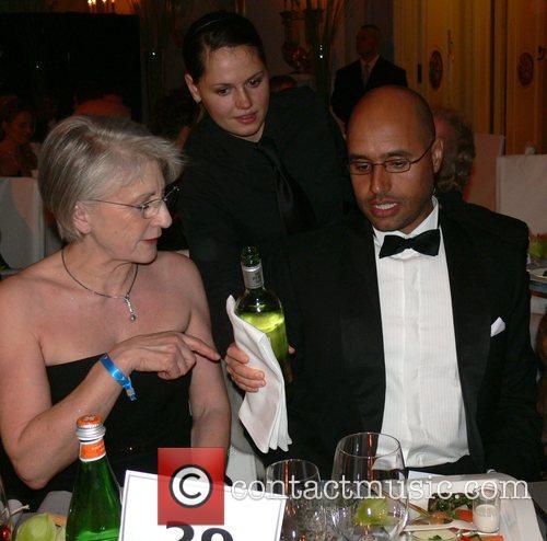 Guest, Saif Gaddafi 7th annual Cinema for Peace...