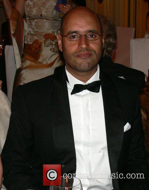 Saif Gaddafi 7th annual Cinema for Peace Award...