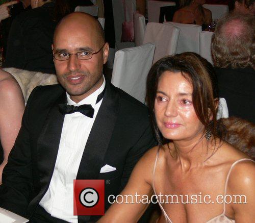 Saif Gaddafi, guest 7th annual Cinema for Peace...