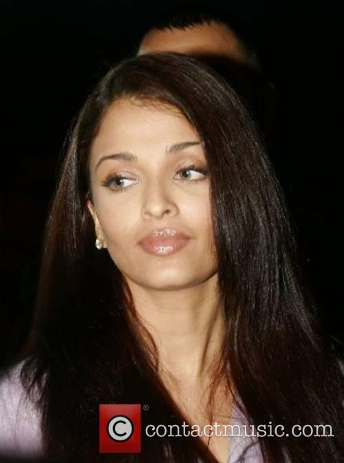 Aishwarya Bachchan arrives at Cineworld to watch the...