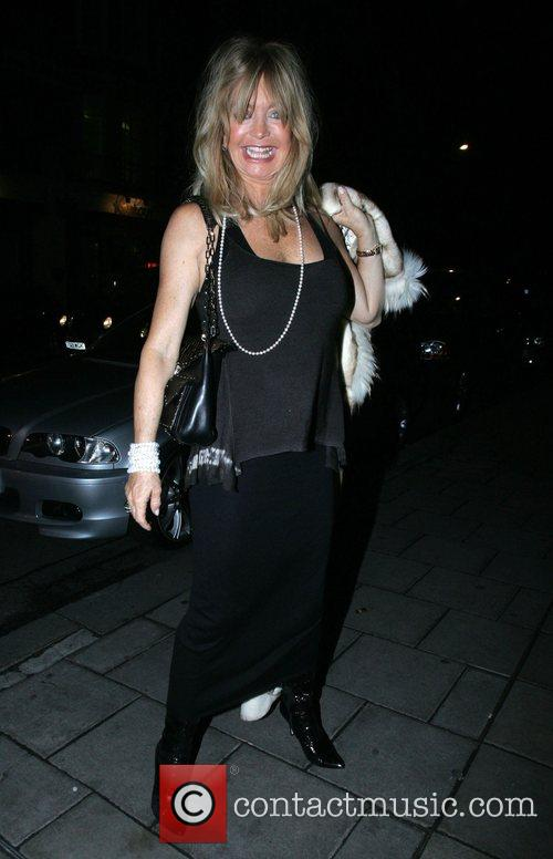 Goldie Hawn, Prince Azim the son of the Sultan of Brunei's have dinner at Cipriani. It is rumoured that he gave her a diamond necklace valued at over £100, 000 as a gift and has invited her to a lavish party he is hosting in his London home 9