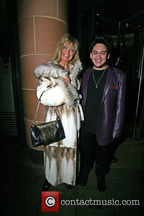 Goldie Hawn, Prince Azim The Son Of The Sultan Of Brunei's Have Dinner At Cipriani. It Is Rumoured That He Gave Her A Diamond Necklace Valued At Over £100, 000 As A Gift and Has Invited Her To A Lavish Party He Is Hosting In His London Home 11