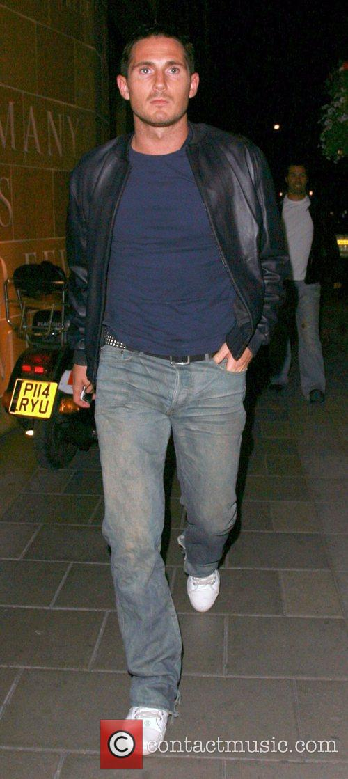 Frank Lampard at Cipriani restaurant London, England