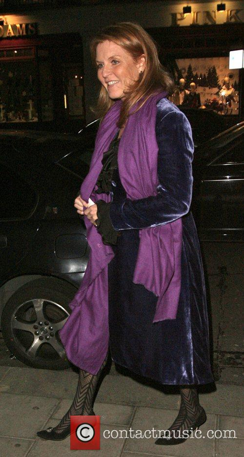 Sarah ferguson, Duchess of York, arriving at Cipriani...