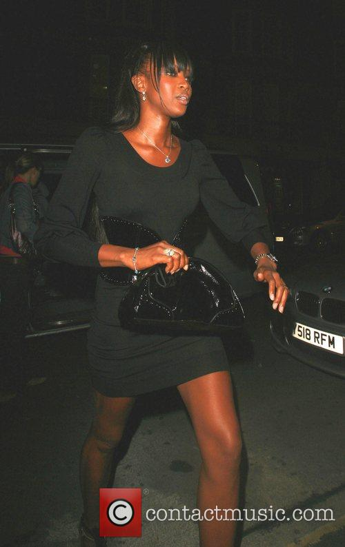 Naomi Campbell at Cipriani