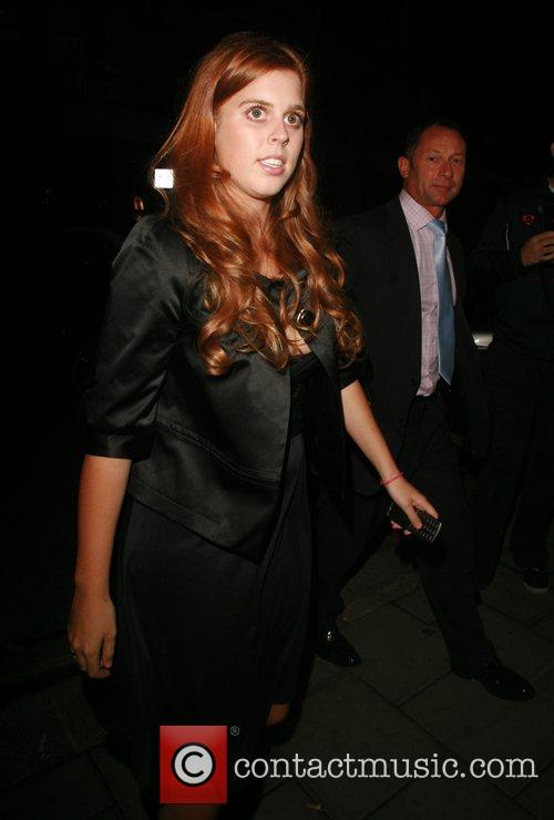 Princess Beatrice at Cipriani