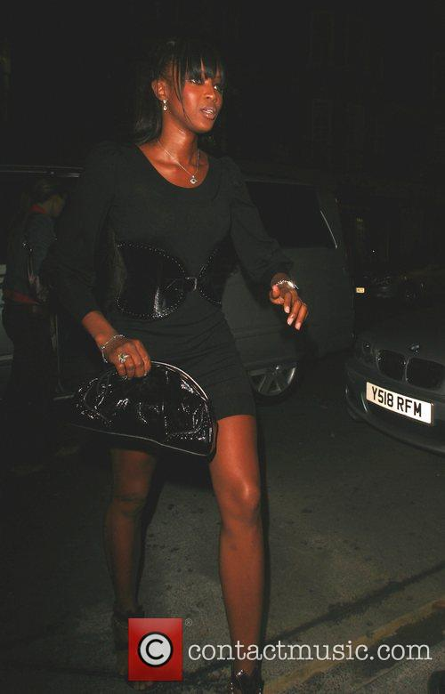 Naomi Campbell at Cipriani London, England