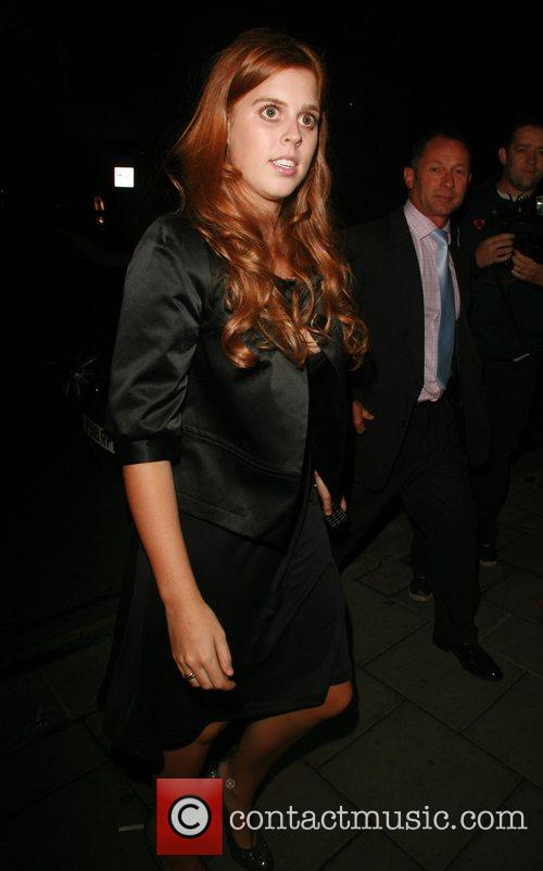 Princess Beatrice at Cipriani London, England