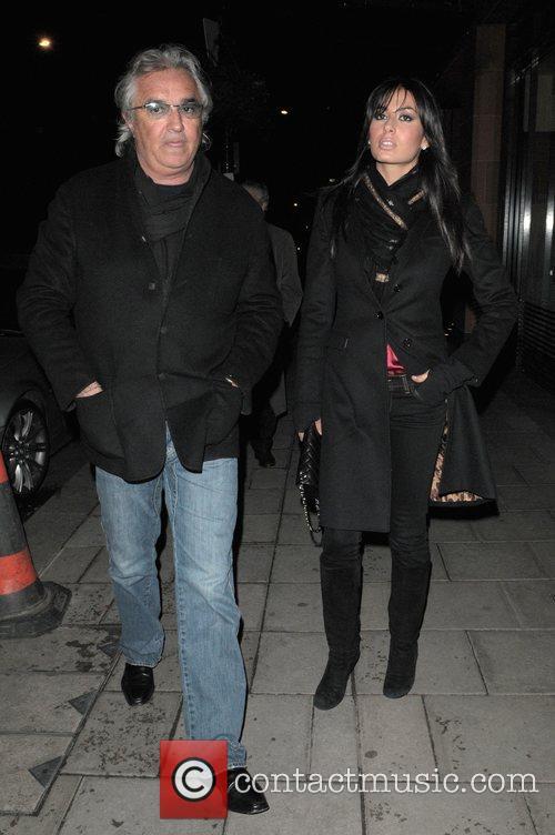 Flavio Briatore and His Girlfiend Elisabetta Gregoraci 2