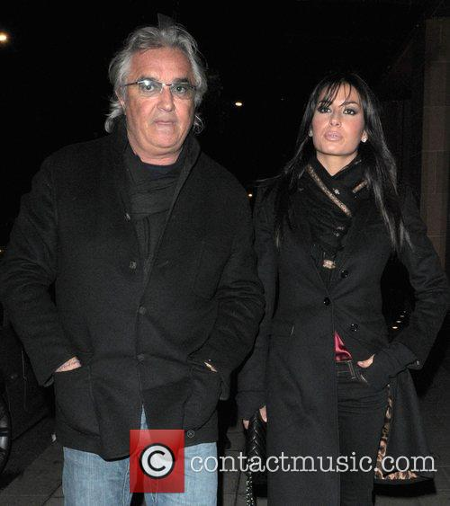 Flavio Briatore and His Girlfiend Elisabetta Gregoraci 1
