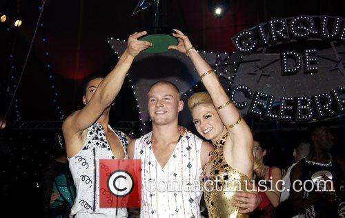 Three finalists of 'Cirque de Celebrite,' Luke Bailey,...