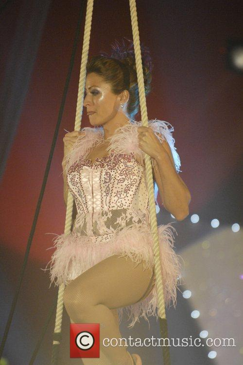 Rebecca Loos Cirque de Celebrite Final on Woolwich...