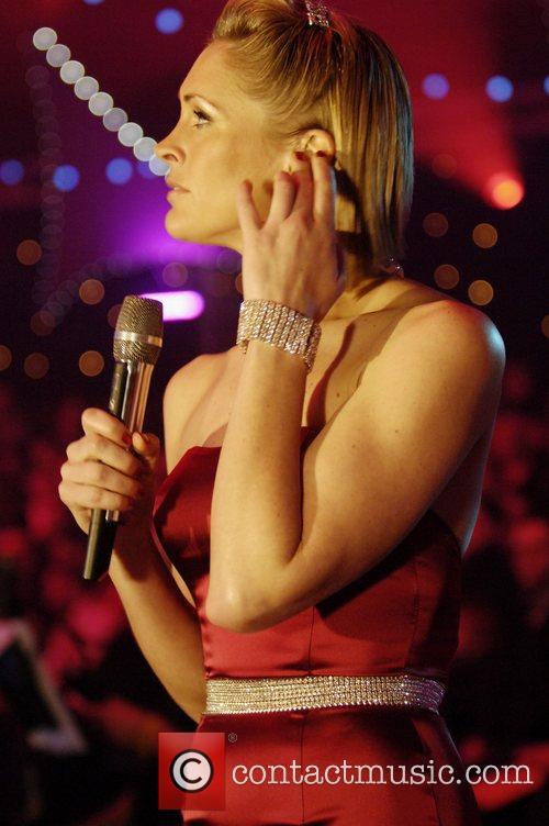 TV presenter Jenny Falconer Cirque de Celebrite Final...