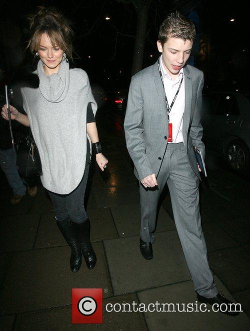 Eastenders stars Kara Tointon and Charlie G Hawkins...