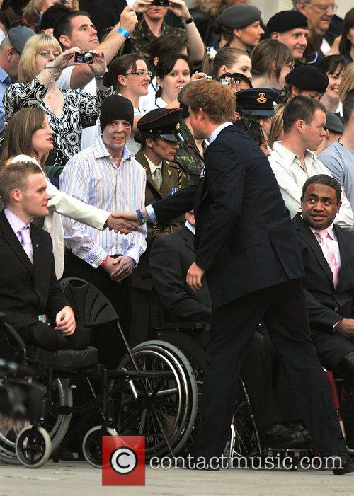 Prince Harry City Salute held at St. Paul's...