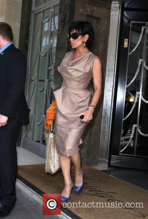 Nancy Dell'Olio leaves Claridges hotel