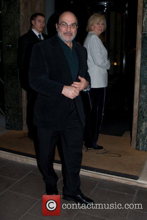 David Suchet leaves Claridge's
