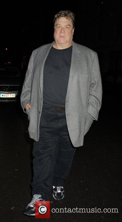 John Goodman arriving at Claridges. Although wearing dark...