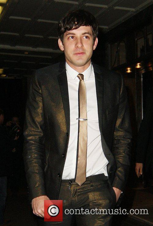 Mark Ronson leaving Lily Allen's 23rd birthday party...