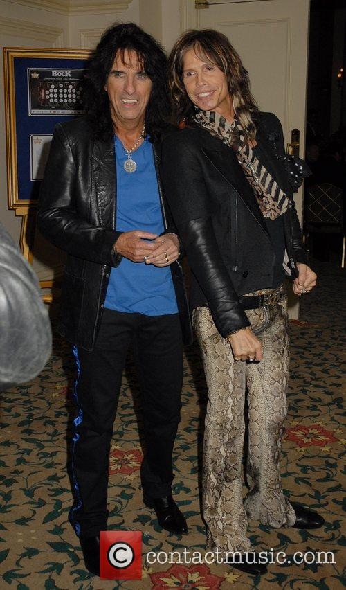 Alice Cooper and Steven Tyler 9