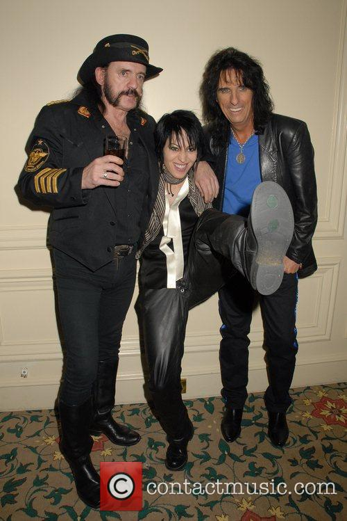 Lemmy, Alice Cooper and Joan Jett 2