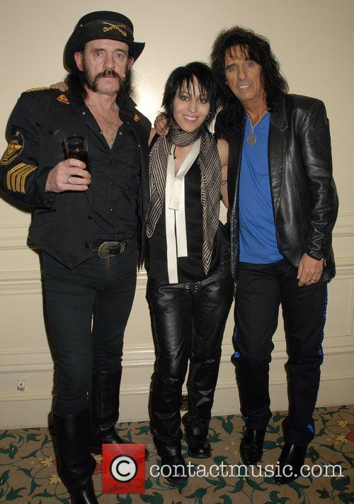 Lemmy, Alice Cooper and Joan Jett 3
