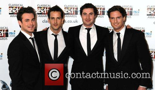 Classical Brit Awards Launch Party held at the...