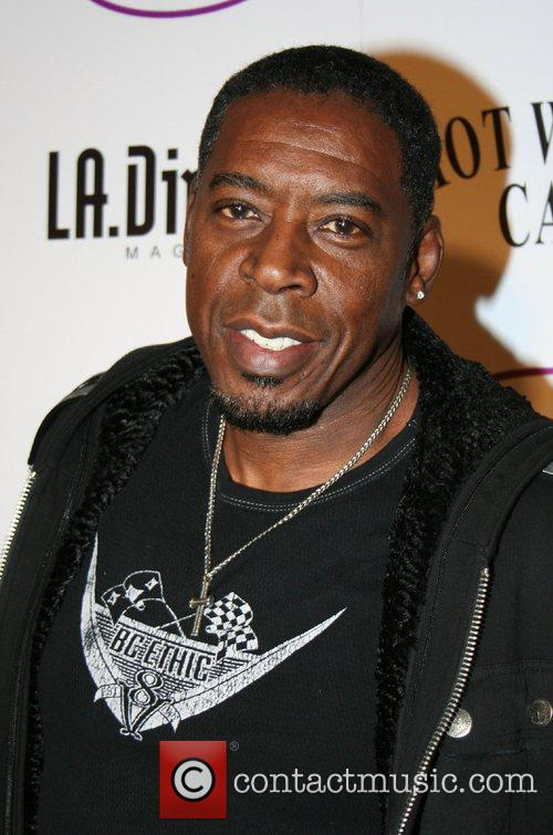 Ernie Hudson Grand opening of Clinique Le Beau...