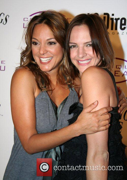Eva LaRue and Boti Bliss Grand opening of...