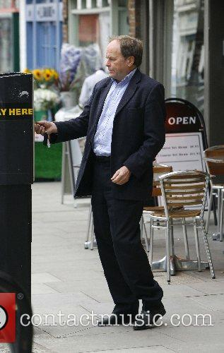 Clive Anderson at the ticket machine in Primrose...