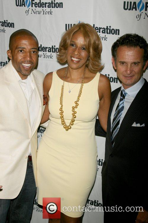 Kevin Liles ,Gayle King and President of BMG...