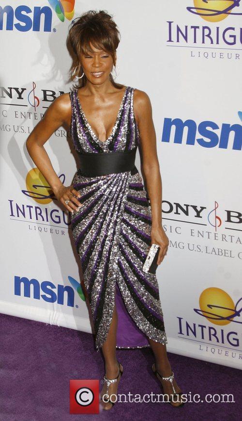 Whitney Houston Clive Davis Pre-GRAMMY Party 2008 held...