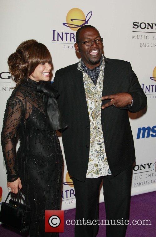 Paula Abdul and Randy Jackson Clive Davis Pre-GRAMMY...