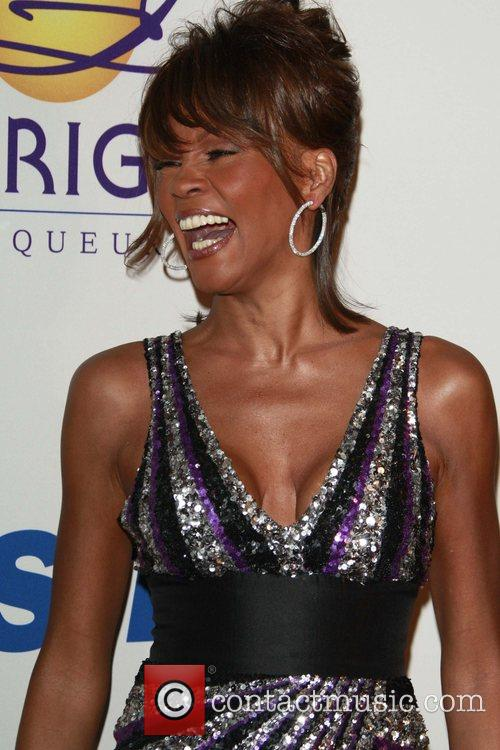 Whitney Houston Sparkly Dress
