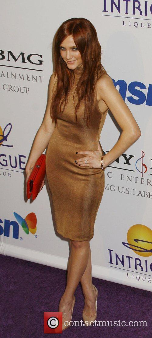 Ashlee Simpson, The 50th Grammy Awards, Grammy Awards