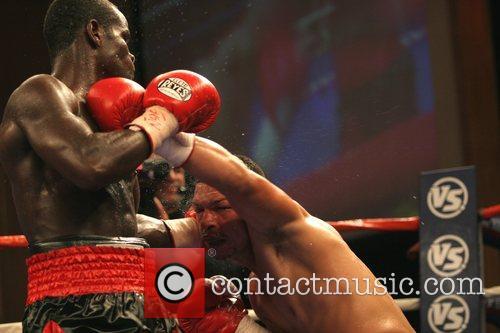 Joshua Clottey vs Felix Flores boxing match held...